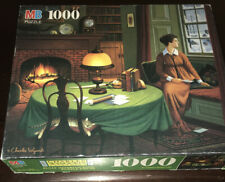 MB Charles Wysocki HER CAPTAIN'S WISTFUL LETTER 1000 Piece Jigsaw Puzzle FREE SH