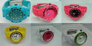 Fahrenheit Colours Unisex Bracelet watches with rotating bezel, Various colours