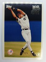 DEREK JETER RC 1996 96 TOPPS BASEBALL FUTURE STAR ROOKIE CARD #219 YANKEES