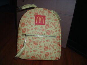 MCDONALDS' BREAKFAST PRINT EGG MCMUFFIN MINI BACKPACK~ WITH TAGS~ NEW~
