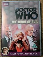 Doctor Who The Mind of Evil DVD (Two Disc Set) Jon Pertwee.