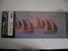 Humbrol Country House 'Sailing Ships' Stencil