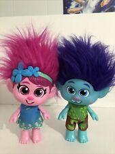 Hasbro DreamWorks Trolls World Tour Toddler Poppy And Branch Set Of 2