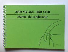 Manuel du conducteur JAGUAR XK8 - 2000
