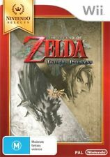 Wii Game The Legend of Zelda Twilight Princess Nintendo Aus Stock