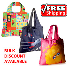 Kids Shoppers - Rocket Moon, Circus and Sesame Street Themed Shopping Bags