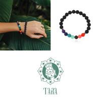 Tara Armband 7 Chakren Chakra Kraft der Steine Yogaschmuck good positive Karma