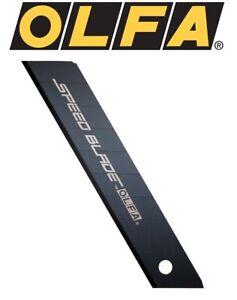 5 x pieces of Olfa SPEED BLADES LFB-5B, 18mm Speed Blades in safety dispenser