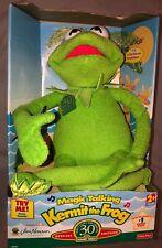 "Magic Talking Kermit The Frog Plush 18"" Sesame Street 30th Anniversary 39787 NIB"