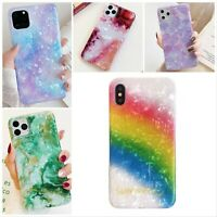 Case for iPhone 11 11Pro 11 Pro Max ShockProof Marble Phone Cover Shell Silicone