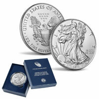 2017 W BURNISHED AMERICAN SILVER EAGLE ONE OUNCE  UNCIRCULATED COIN