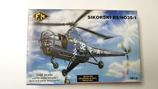 1/48 Fm Fonderie Sikorsky R5 / Ho3S-1 Complete kit , un-started, box worn