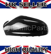 Vauxhall Astra H MK5 Wing Mirror Cover Cap Casing Left / NSF 04-09 Gloss Black