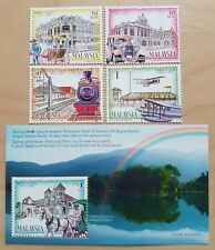 1999 Malaysia 125 Years Taiping 4v Stamps & Mini-Sheet Mint NH