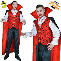 Horror Vampire Costume Scary Adult Halloween Vampire&Dracula Role Play Costumes