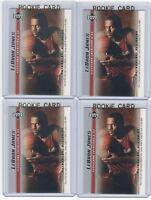4 LEBRON JAMES 2003-04 Upper Deck Rookie Card RC lot/set Mint Gold Top Loader 10