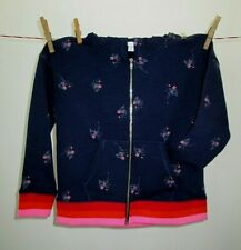 Rockets of Awesome navy zip hoodie 6/7 NWT