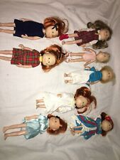 Madeline 10 Doll Lot With Accessories Clavell Nicole Genevieve Clothes Shoes