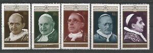 Rwanda - 1970 Popes stamps