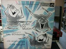 JAZZ LP: Progressive Piano HAL SCHAEFER Just Too Much MONDRAGON STOLLER RCAVic