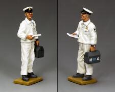 KING & COUNTRY WW2 JAPANESE NAVY JN012 DECK CREW PETTY OFFICER MECHANIC MIB