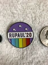 Elect Rupaul 2020 for President Lapel Pin Free Shipping Within Usa