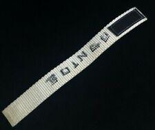 Very Rare Actual Vintage 1980s Oingo Boingo Woven Bracelet With Velcro Closure
