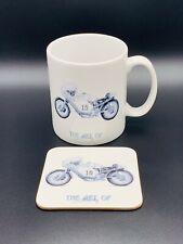 Collectible PAUL SMART at IMOLA Tea/Coffee Mug + Matching Coaster ...last one!!!