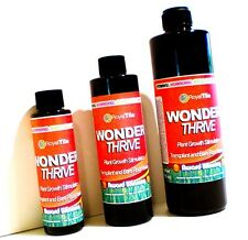 FRESH 4 oz WONDER THRIVE Organic Plant Reviver, Orchids & Hydroponics! FREE S&H