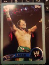 2011 Topps WWE Wrestling BLUE #38 Yoshi Tatsu #d 1193/2011