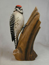 Ladder-backed Woodpecker Wood Carving