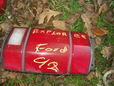 Tail Light 1992 Ford Explorer Taillight