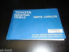Catálogo de Piezas Repuesto Toyota Carretilla Elevadora 5FG28 5FG30