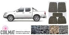 2005-2014 Nissan Navara D40 Dual Cab UTE - Customised PVC Coil Car Floor Mats