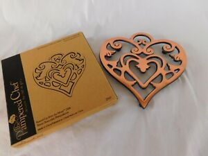Pampered Chef 2006 Round up From the Heart TRIVET Brand New 2937