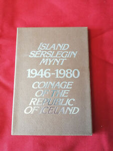 Iceland proof coin set 1946-1980