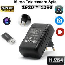 Mini Telecamera Spia cam Full HD 1080P DVR Nascosta Adattatore videocamera