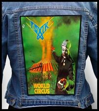 TOXIK - World Circus --- Giant Backpatch Back Patch