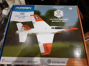 E-FLite UMX Habu  Micro EDF RC Jet with AS3X and safe