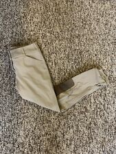 New listing Women's Size 26 Tan Tailored Sportsman Trophy Hunter Knee Patch Riding Breeches