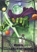 2016 Marvel Masterpieces Joe Jusko Epic Purple Parallel #28 Mysterio /199
