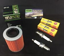 CAN AM COMMANDER 800 / 1000 OIL FILTER + SPARK PLUGS TUNE UP KIT 11-16