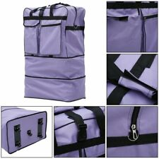 36 Inch Expandable Rolling Bag Wheeled Suitcase Luggage Case With Wheels