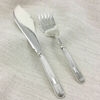 1912 Antique Serving Cutlery Set Silver Plated White Star Line Titanic Interest