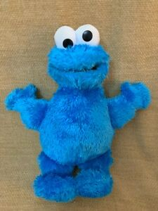 Blue Cookie Monster Sesame Street Soft Toy 22cm 2014