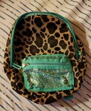 Just Be Girls Glitter Back Pack Excellent Condition