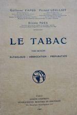 Tabac Le Tabac Capus 1929