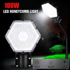 100W LED Street Light 9000LM Outdoor Commercial Garden Walkway Road Lamp IP67 US
