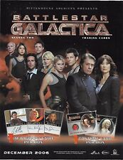 2007 Battlestar Galactica Season 2 Complete Master Set with Jim Kyle Sketch