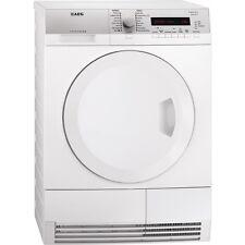 AEG T75380AH2 60cm White 8kg A+ Rated Heat Pump Condenser Sensor Tumble Dryer